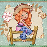 Sophie in the country - Digital Stamp