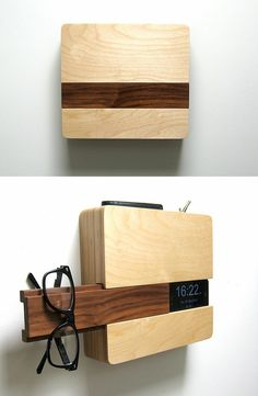 The Butler- Great for storing your phone, wallet, glasses, & keys instead of cluttering your table!
