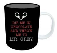 - 50 Shades Mug Dip Me In Chocolate And Throw Me To Mr Grey Bring out your inner goddess with this 'Dip Me in Chocolate and Throw Me to Mr Grey' mug. Measures approximately: Height Width Depth This is a perfect gift or stocking filler this Christmas! Grey Mugs, Grey Doors, Mr Grey, 50 Shades Of Grey, Health And Beauty, Cool Girl, Household, Fragrance, Tableware