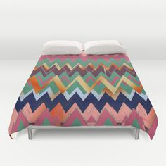 Jagged Duvet Cover by gretzky - $99.00