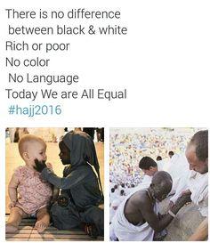 All equal at Hajj  #islam #muslim #Allah #Quran #ProphetMuhammadpbuh #instagram…