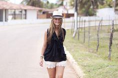 Walking down the streets in Brazil
