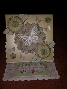 Mothers day easel card