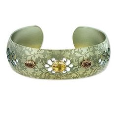 Mirabella Bracelet - Peridot / Smoky Topaz in Gift Giving 2012 from Holly Yashi on shop.CatalogSpree.com, my personal digital mall.