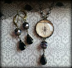 Hey, I found this really awesome Etsy listing at https://www.etsy.com/listing/458474590/spider-necklace-spider-jewelry-spider