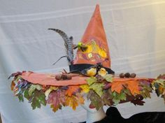 """Witches Hat the """"Nature Witch"""" OOAK"""