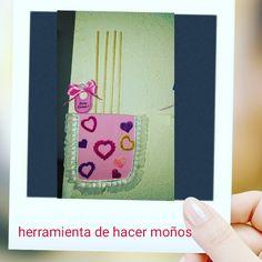 COMO HACER HERRAMIENTA PARA HACER MOÑOS DE LISTON