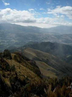 A gorgeous view from 4,200 meters atop Pasochoa Volcano