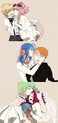 Tags: Wedding, Wedding Dress, Androgynous, Amputee, Giggles (HTF), Happy Tree Friends