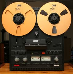 Otari reel to reel recorder