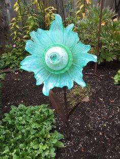 Flower Garden, Flowers, Recycling, Glass Garden Flowers, All Flowers