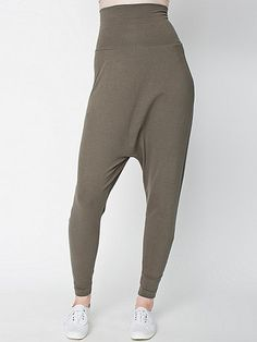 Cotton Spandex Jersey Harem Pant | American Apparel