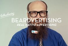Whit Hiler: Part Beard Squirrel Part Beardvertising Marketing Maestro with Dollar Shave Club Hipsters, Succulent Corsage, Afraid Of Commitment, Bridesmaid Corsage, Dollar Shave Club, Native Advertising, Shaving Tips, A Bone, Epic Beard