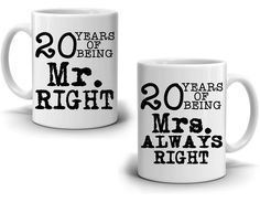 Personalized Number of Years Wedding Anniversary Couples Gift Coffee Mug, Romantic Present for Husband and Wife This Valentines Day, Printed on Both Sides! Best Friend Gifts, Gifts For Friends, Best Gifts, Gifts For Her, Movie Basket Gift, Movie Gift, Creative Gift Baskets, Creative Gifts, Souvenir Display