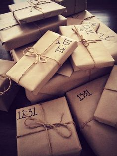 GREAT birthday idea that could be used for any age!! Instead of buying him just one gift, I decided to get him 12 gifts which he has to open every hour as of 9:31am. 31 minutes because he turns 31 years old. The gifts are all meaningful (between him and I) and range from $2 to $100. He gets to enjoy his birthday the entire day :)