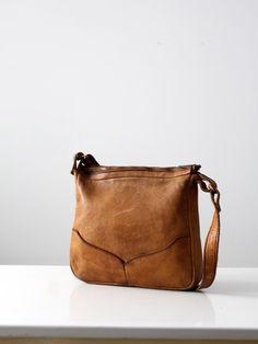vintage 70s leather bag / brown boho purse by 86Vintage86 on Etsy https://www.etsy.com/listing/180127175/vintage-70s-leather-bag-brown-boho-purse