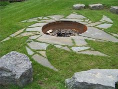 Fire Pit Stonewood And Waters Mendon, NY