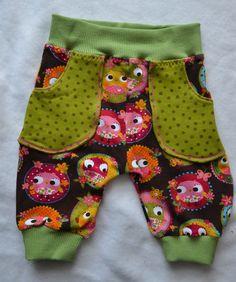 Mädelshosen : Hose FridaEulchen Gr. 62 Baby, Trousers, Gowns, Infants, Baby Humor, Babies, Infant, Doll, Babys