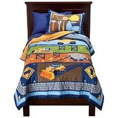 Circo Boys Build It collection 3 Piece Comforter Set FullQween BlueOrange * Check this awesome product by going to the link at the image.