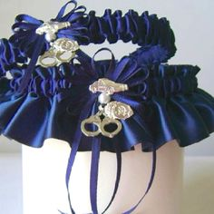 Law Enforcement Garter. Want!!!!!