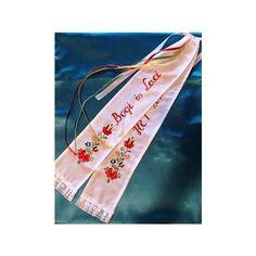 Egyedi hímzett vőfélyszalag Wedding Accessories, Ribbon, Unique, Pattern, Tape, Wedding Props, Band, Patterns, Ribbon Hair Bows