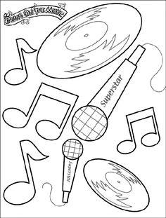 disney maracas coloring pages - photo#26