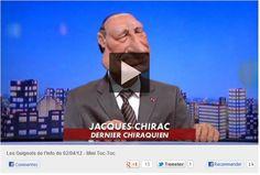 Jacques Chirac de retour dasn les #guignols!