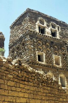 Yemen - Manakha, Kawkaban, houses