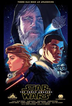 Tribute to the upcoming Star Wars: The Force Awakens by artist Ross Burt. Description from tagloom.com. I searched for this on bing.com/images