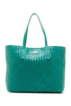 Victoria Tote - Pretty color reminds me of the beach and summer.
