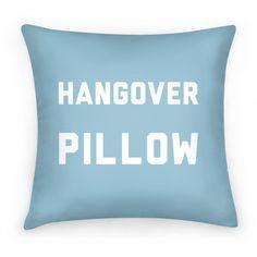 Hangover+Pillow