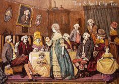 「英国の紅茶 版画」の画像検索結果