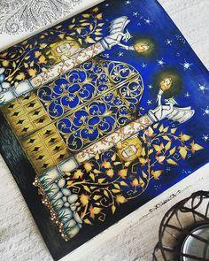 Esse colorido ficou um arraso!!!! @Regrann from @vintagebarbi - #johannabasford #johannabasfordenchantedforest #enchantedforest #felnottkifesto #felnőttszínező #adultcoloringbook #coloringbook #adultcolouring #adultcoloring #mycreativeescape #mycreation #coloring #colouring #szinezzunkegyutt #Regrann #artecomoterapia #florestaencantada #lapisdecor #colorir #livrodecolorir