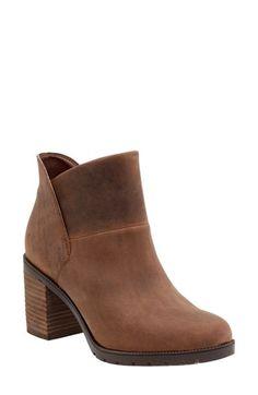 Free shipping and returns on Clarks® 'Malvet Helen' Block Heel Boot (Women) at…