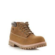 Tan 'Sergants Verdict' boots at debenhams. Debenhams, Timberland Boots, Shoes, Fashion, Moda, Zapatos, Shoes Outlet, Fashion Styles, Shoe