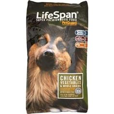 PetGuard Lifespan Premium Dry Dog Food Chicken Vegetables & Whole Grains -- 8 lbs - Do you want additional info? Click on the image. (This is an affiliate link and I receive a commission for the sales)