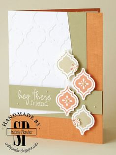 The Crafty Medic: Lost in the fray - Stampin' Up! Mosaic Madness stamp set and My Paper Pumpkin welcome kit stamp
