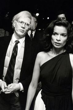 Andy Warhol and Bianca Jagger. See the style icon's best photos here;