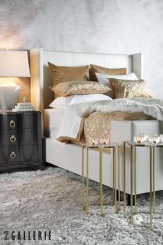NEW spring arrival: create a sleek and contemporary sanctuary in your bedroom with our Flynn Bed.