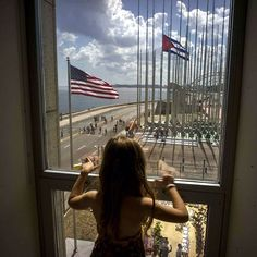 The Stars and Stripes are flying over the U.S. embassy in Havana Cuba for the first time in 54 years. Secretary of State John Kerry visited the country Friday during a ceremony to officially reestablish diplomatic relations between the two countries. This is truly a memorable occasion a day for pushing aside old barriers and exploring new possibilities Kerry said at the ceremony. We are gathered here today because our leaders President Obama and President Castro made a courageous decision to…