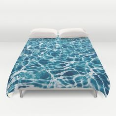 Crystal Waters Duvet Cover by Mark Baker-Sanchez
