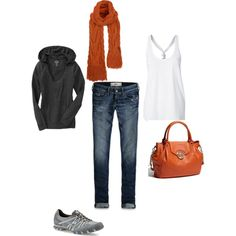 Outfit, created by #shellyontour on #polyvore. #fashion #style Old Navy Hollister Co.