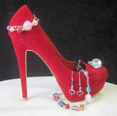 Lorenz 2.0 Shoes & Jewels  With my jewelry in the store...
