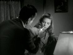 Humphrey Bogart & Lauren Bacall (To Have And Have Not, 1944)