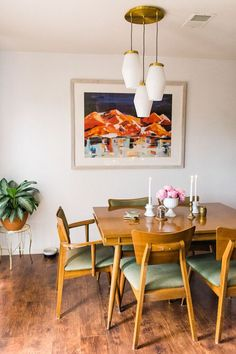 Client Reveal: Mid Century Modern Dining Room