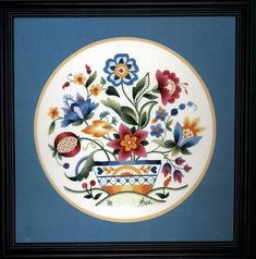 "Elsa Williams Crewel Embroidery Kit Jacobean Inspired New Bedford Basket NIP14""   eBay"