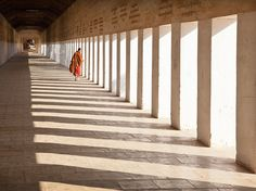 Monk at Temple Image, Myanmar - National Geographic Photo of the Day