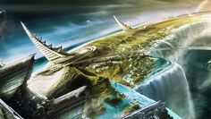 We are listing below a few of the futuristic city concept ideas put forward by various artists.