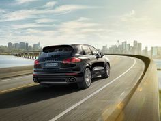 Porsche Cayenne Turbo S - Chassis
