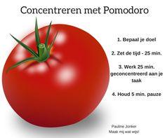 Bij het doen van huiswerk is concentreren vaak de grootste uitdaging. De Pomodoro techniek kan hierbij helpen. In dit blog uitleg en handige apps.